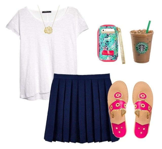 """Untitled #163"" by hoffman76 ❤ liked on Polyvore featuring MANGO and Jack Rogers"