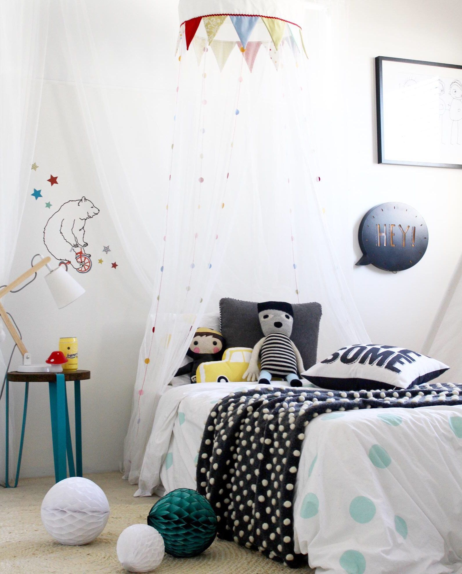 kids bedroom ideas how to use a simple decal to ignite imagination rh pinterest com au