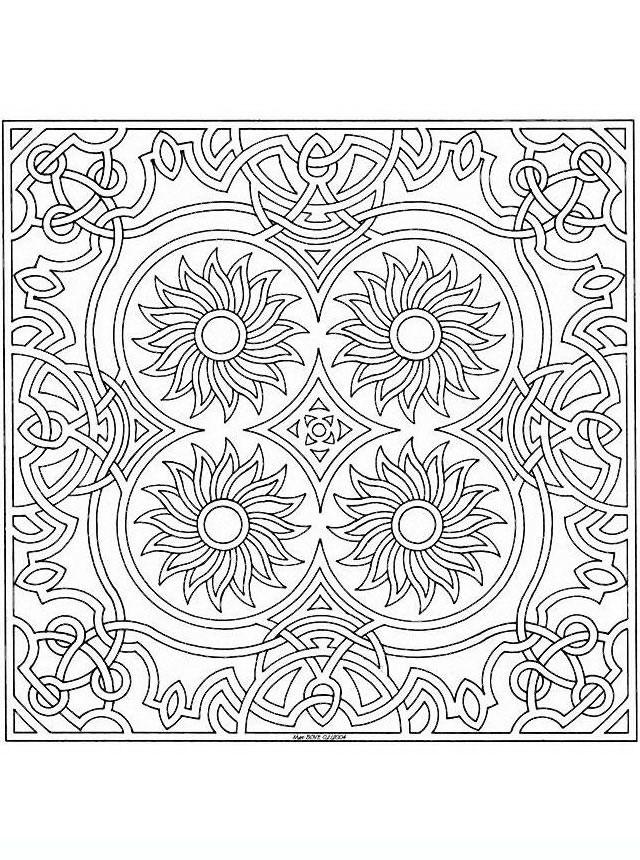 Mandala33 Disegni Da Colorare Per Adulti E Ragazzi Colorare