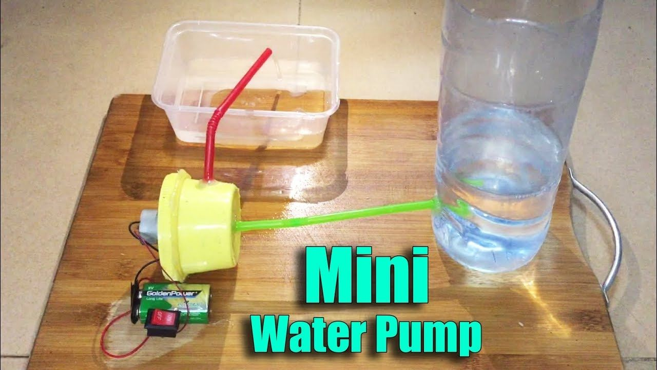 How to Make a Mini Electric Water Pump DIY at Home - Life ...