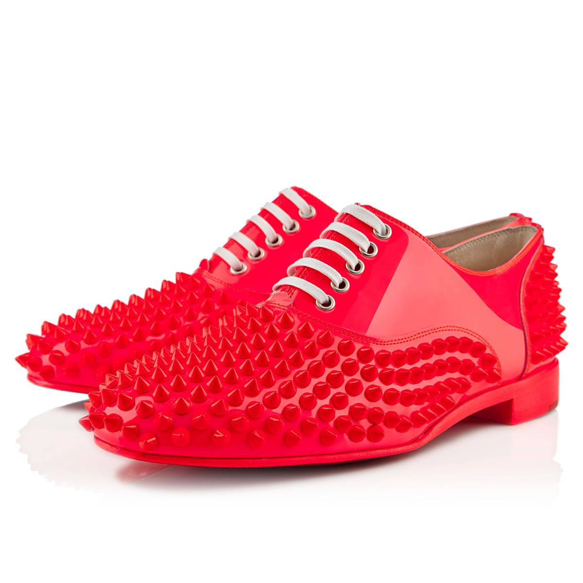 c5468d6afaca Unless you are in Devo... no. freddy flat rose paris patent leather-  Louboutin