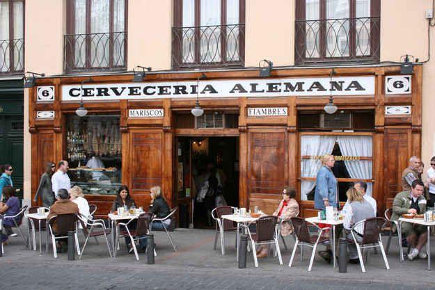 Cerveceria Alemana (Madrid, Spain)   12 Historic Bars Every Book Nerd Needs To Visit