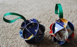 Recycled Card Ornaments Tutorial