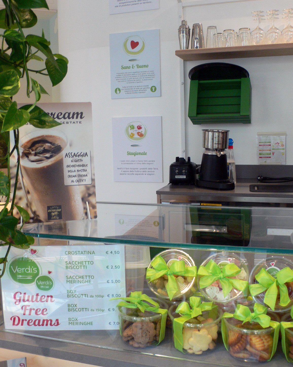 You can find #Splendini #GlutenFree delights at Verdi's Risto Shop -  Milano, Lombardia