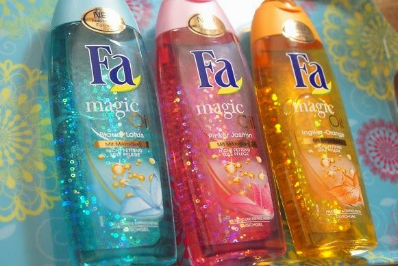 Mein Tipp für Euch das neue Fa Magic Oil (mit Bildern