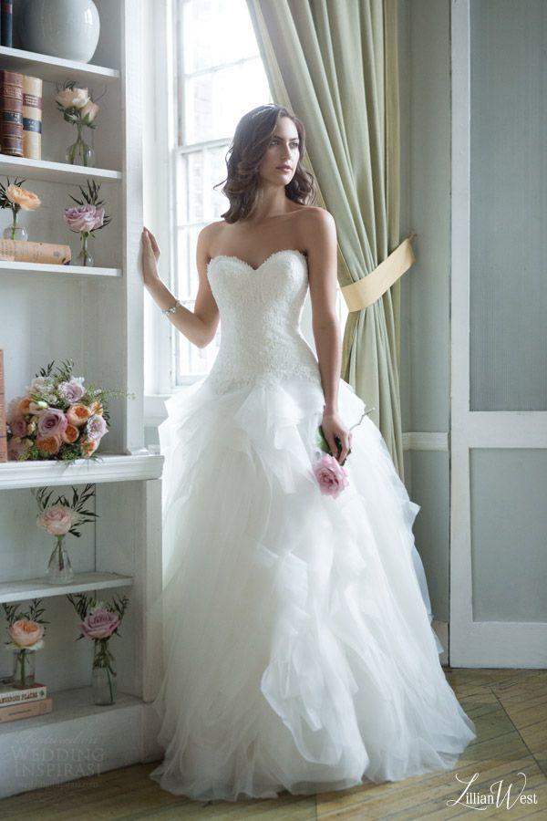 Lillian West 2016 Collection + Win a Justin Alexander Wedding Dress ...