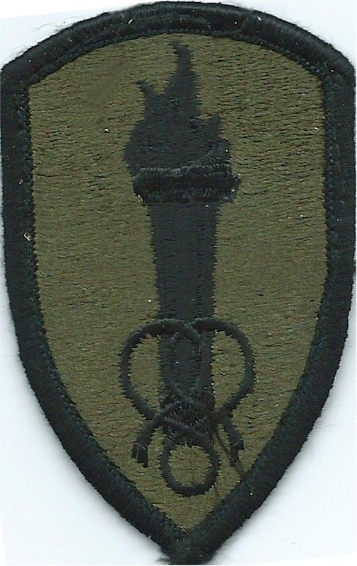 U.S Army Medical Center /& School subdued patch