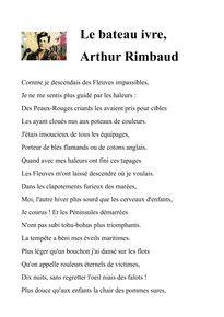 Rimbaud Le Bateau Ivre En 2020 Document