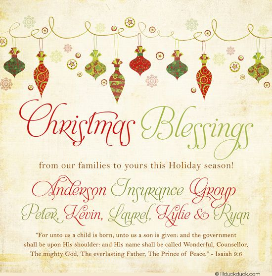 Christmas Party Invitation Quotes: Merry Ornaments Photo Christmas Card - 2017 Festive