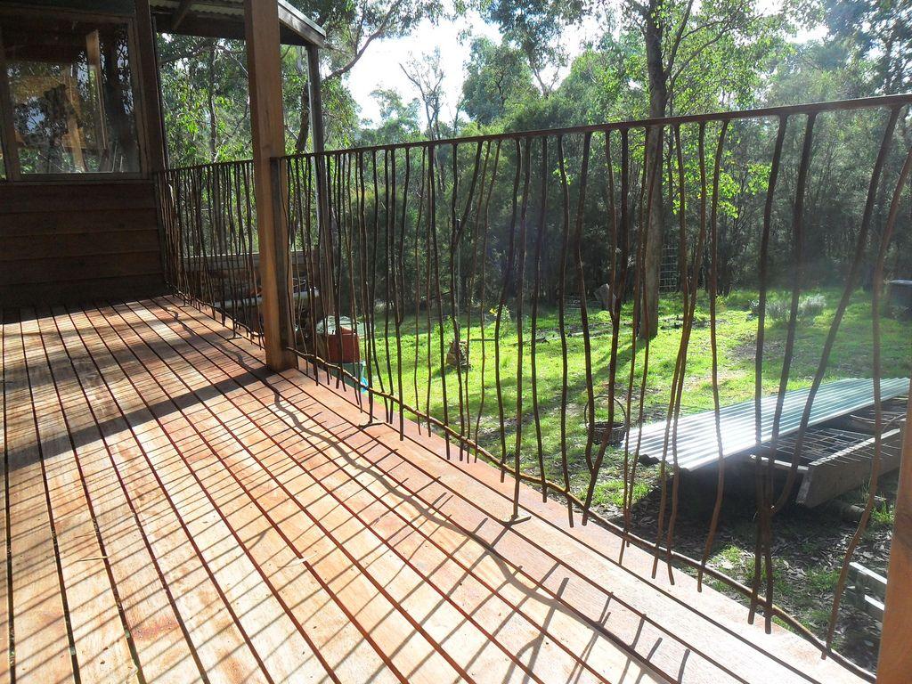 Steel Branch Balustrade Garden Gates Deck Outdoor