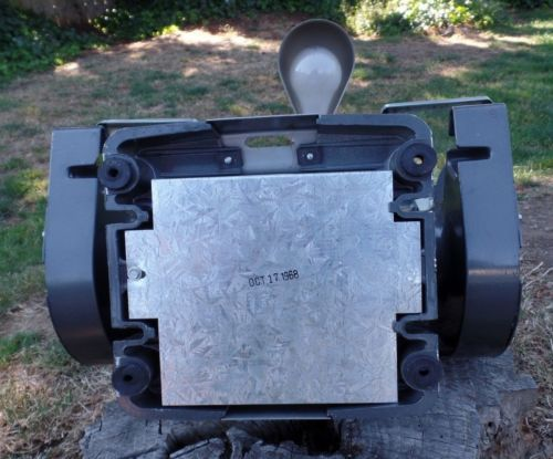 Incredible Vintage Craftsman Industrial 6 Block Bench Grinder 1 3 Hp Caraccident5 Cool Chair Designs And Ideas Caraccident5Info