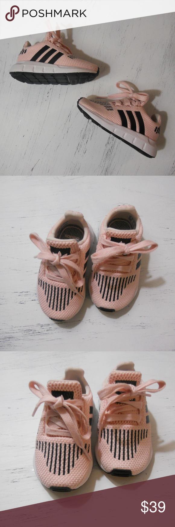 5094b5dc6e416 Adidas size 5 ortholite swift run SOO CUTE! Baby girl Adidas shoes ...