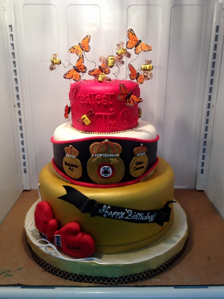 Muhammad Ali S Birthday Cake Adrienne Co Birthday Cakes