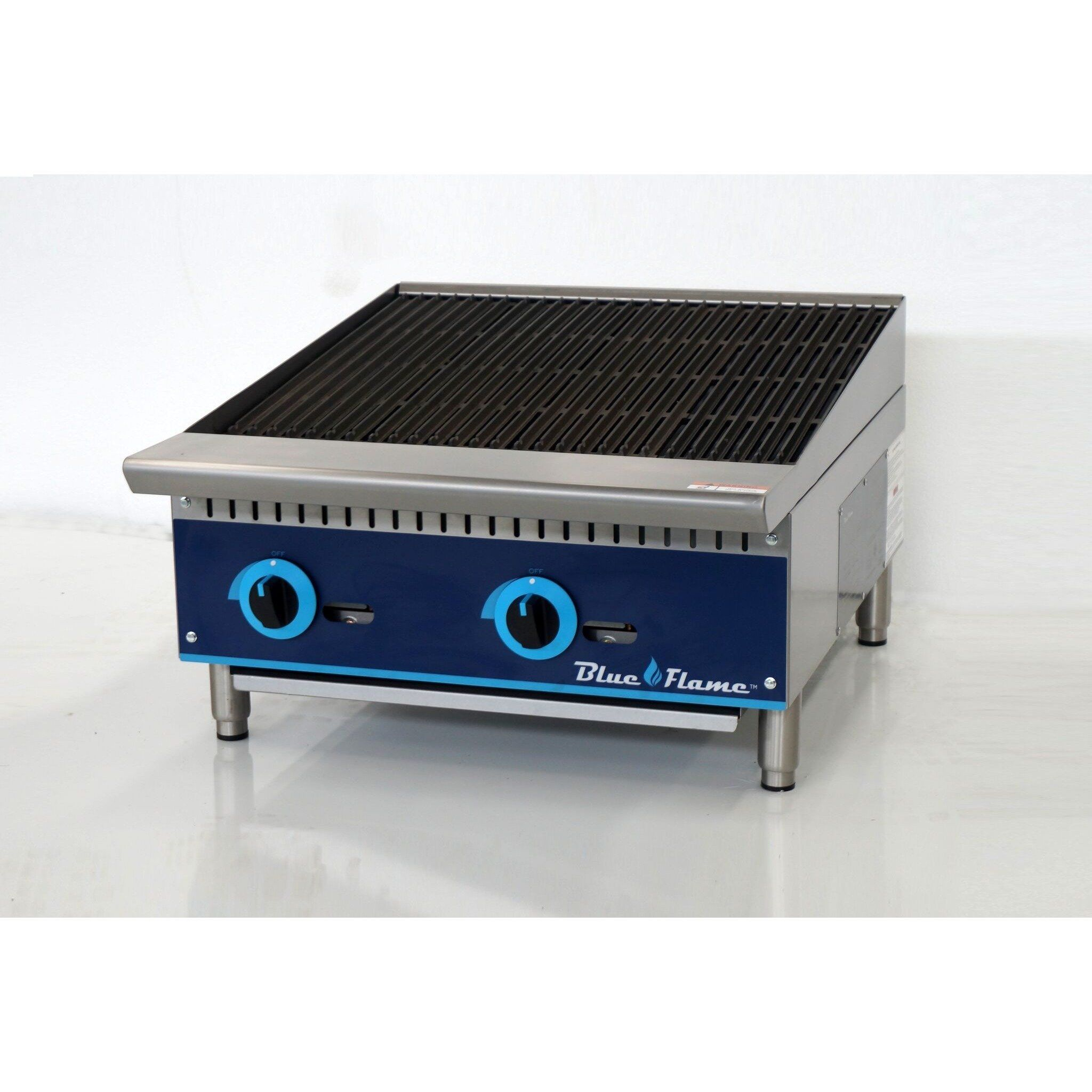 Blue Air Bfrb 24 Commercial Kitchen Gas Char Broiler 24 Atfaucet