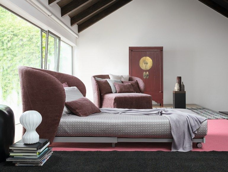 Divano Letto Celine Flou.Upholstered Armchair With Removable Cover Celine Armchair Bed