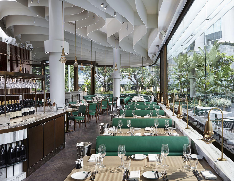 David Collins Studios Project The Continental Image 2 David Collins Restaurant Interior Design Bar Design Restaurant