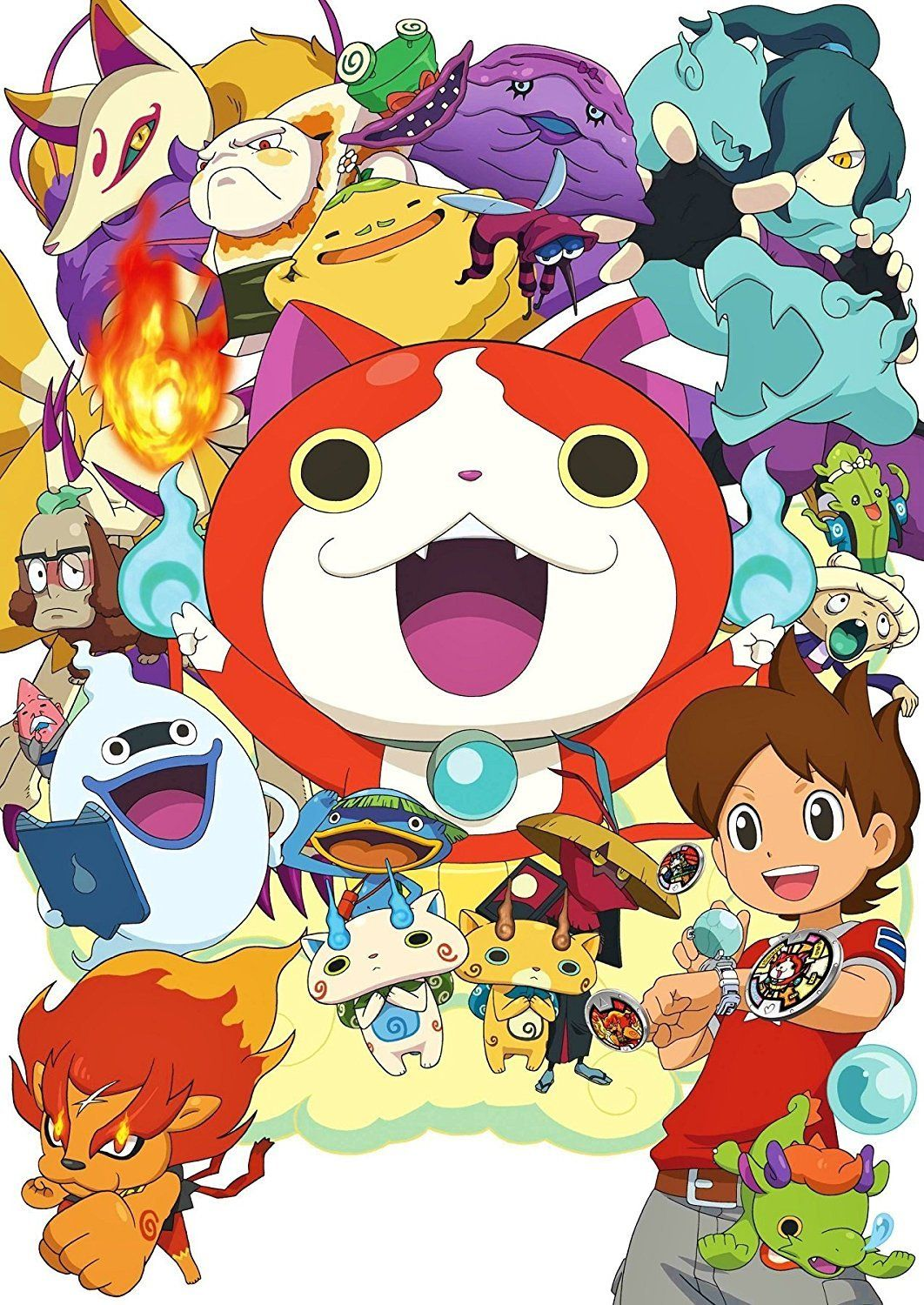 YoKai Watch Poster Poster, Video game posters, Anime