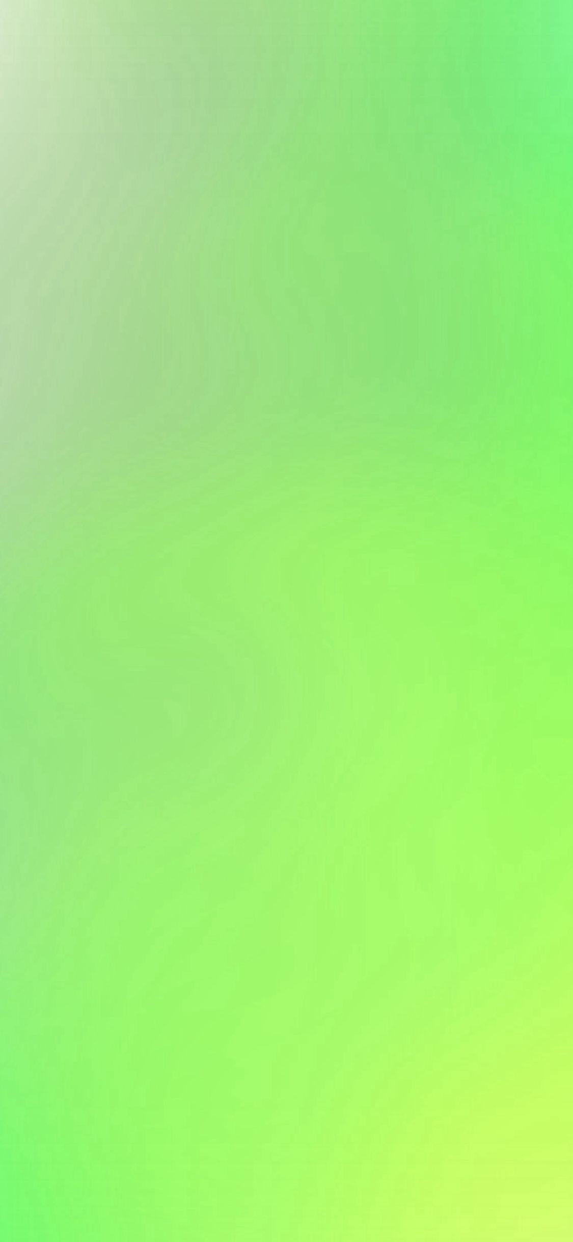 Green Yellow Blur Gradation Iphone X Wallpaper Iphone X
