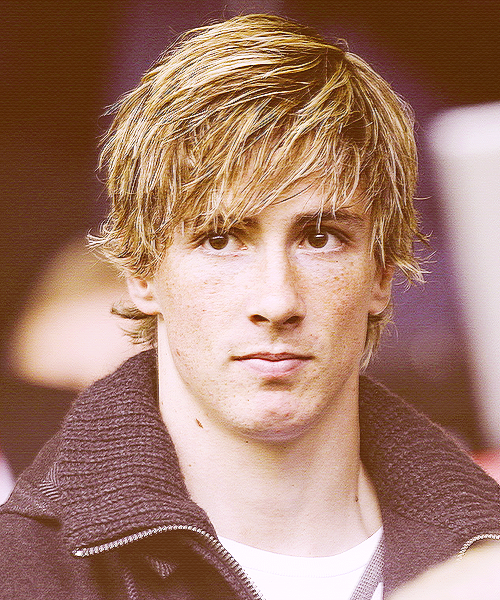Fernando Torres- @taliake look at that face look at it ...