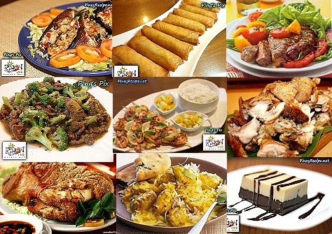Filipino Media Noche Recipes Recipes Dinner Party Recipes Food