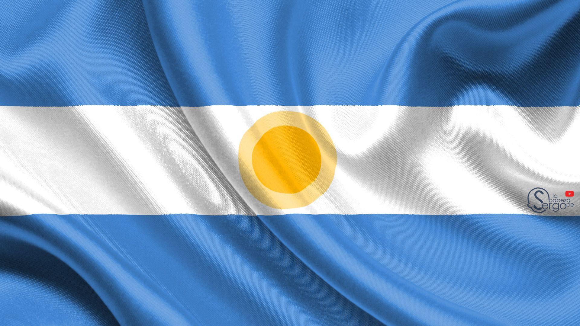 Bandera Argentina Bandera Argentina Banderas Ilustraciones