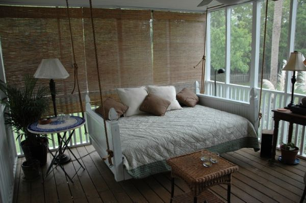 29 Hanging Bed Design Ideas to Swing in the Good Times | Pinterest ...