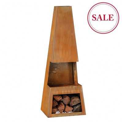 Burnley Chiminea on sale $249 from Early Settler | For The ...