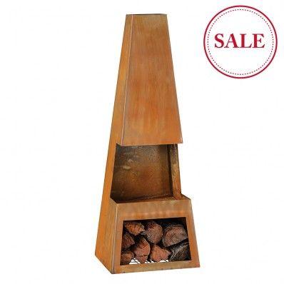 Burnley Chiminea on sale $249 from Early Settler