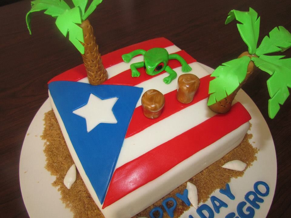 Pin By Christy Dejesus On Party Pop Designs Themed Cakes 70th Birthday Cake Puerto Rico Food