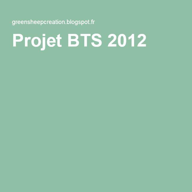 Projet BTS 2012