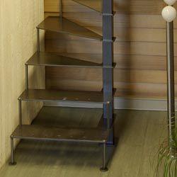 petit escalier pour loft petits espaces pinterest petit escalier escaliers et espaces. Black Bedroom Furniture Sets. Home Design Ideas