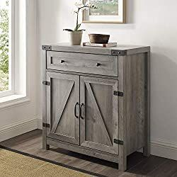 Walker Edison Furniture Company Farmhouse Barn Door Wood Accent Cabinet Entryway Bar Storage Entry Table Living Dining Room, 30 Inch, Grey Wash #furniture #furnituredesign #furniturejepara #furniturejakarta #furnituremurah #furniturebandung #furnituresurabaya #furniturebali #furnitureonline #furnitureindonesia #furnitureminimalis #furnituremaker #FURNITUREMEWAH #furniturestore #furnitures #furnituremedan #furnituremodern #furniturecafe #furniturevintage #furnituredesing #furnituremalang