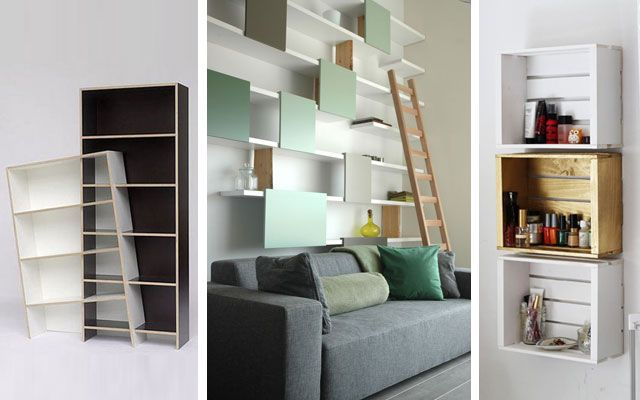 Estanter as originales modernas y decorativas arquitectura estanterias originales muebles - Muebles originales madrid ...