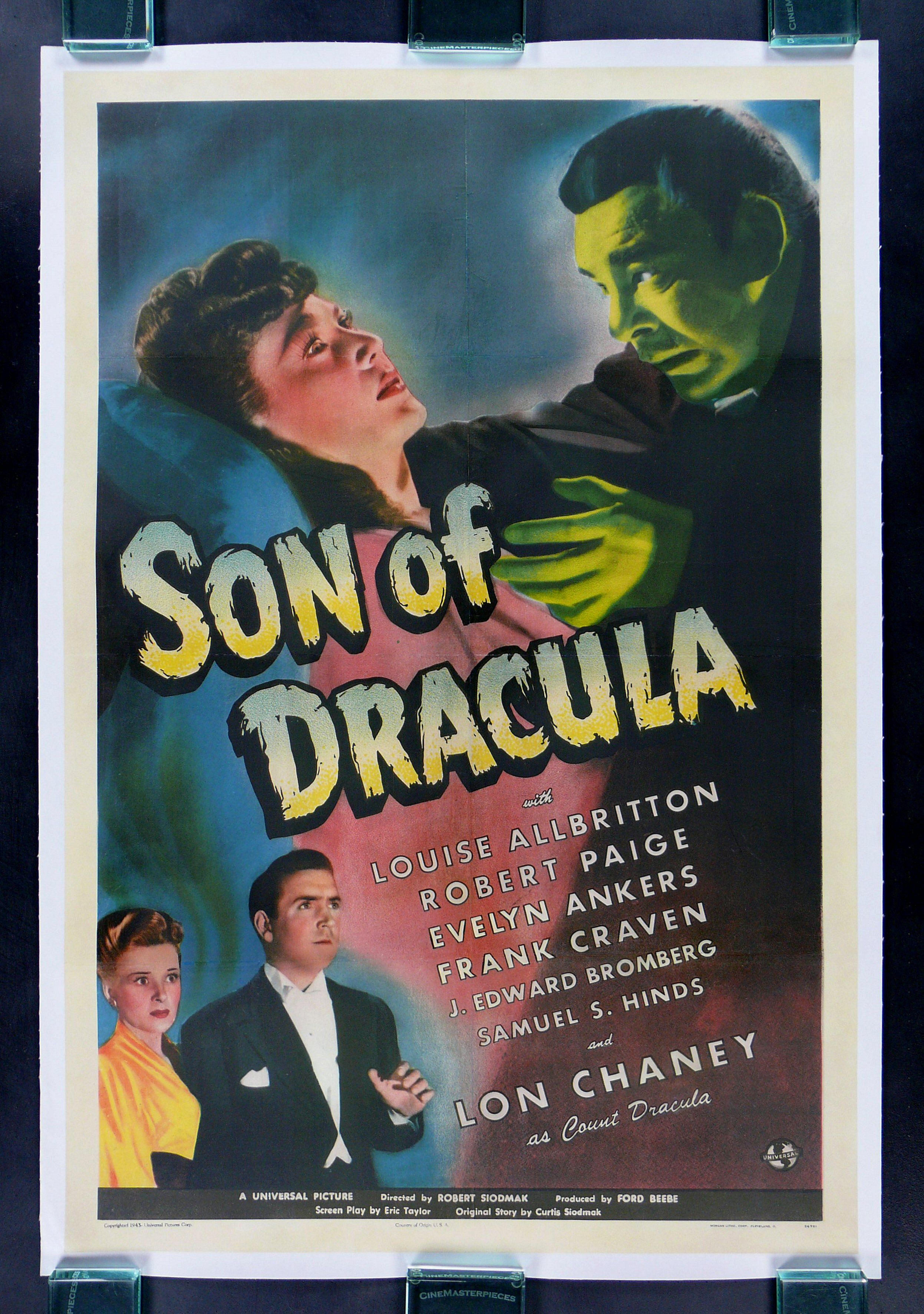 son of dracula vintage movie poster stuff i like and