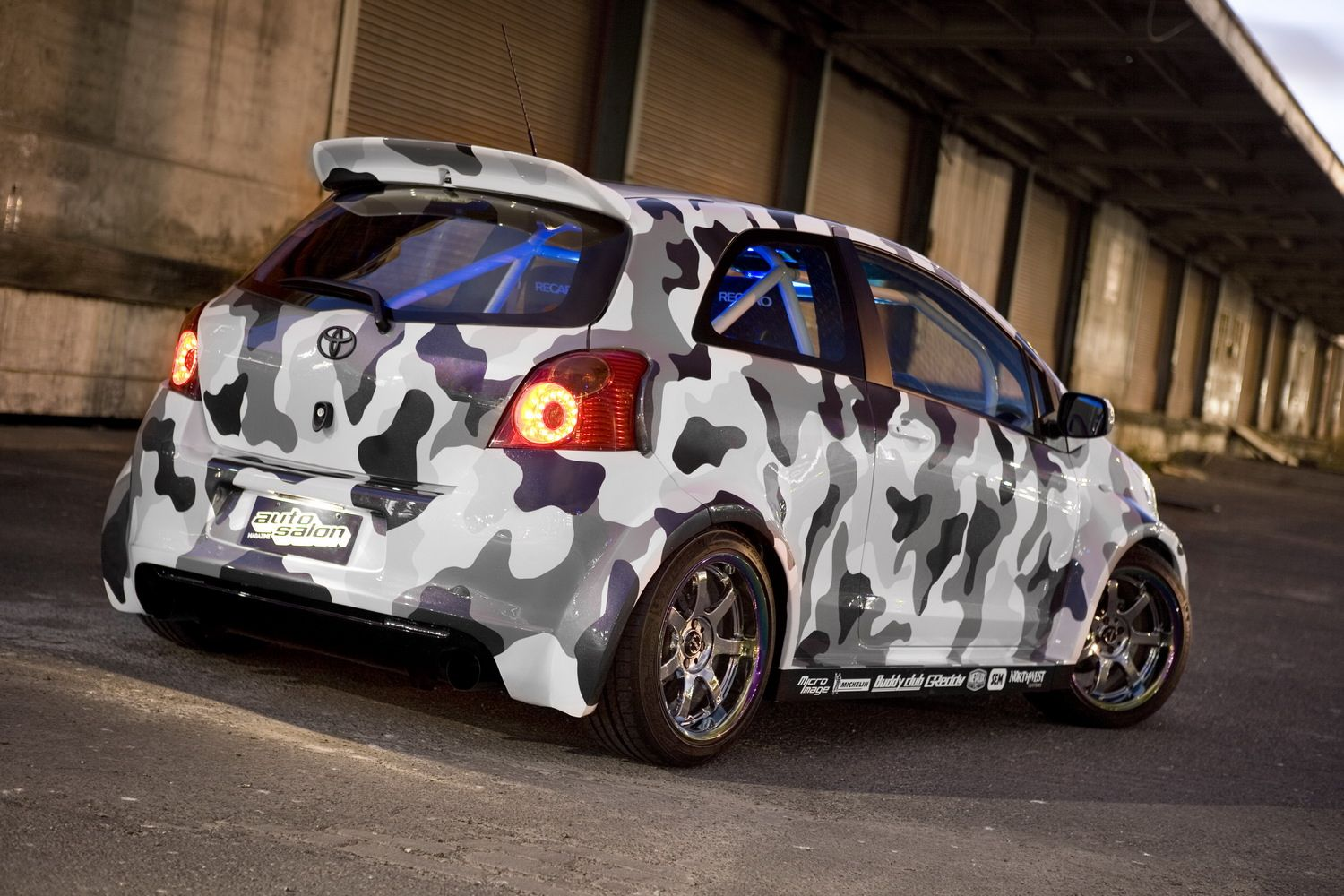 Toyota unveils modified rav4 suv and yaris at melbourne auto show