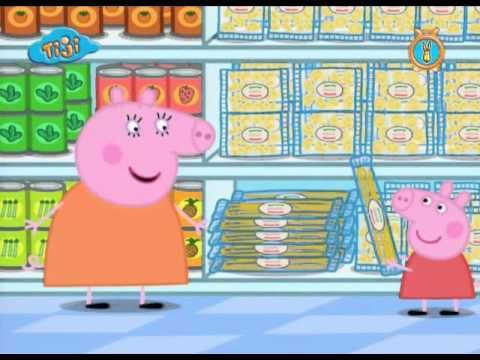 Peppa Pig Francais Le Supermarche Teaching French French Lessons French Education
