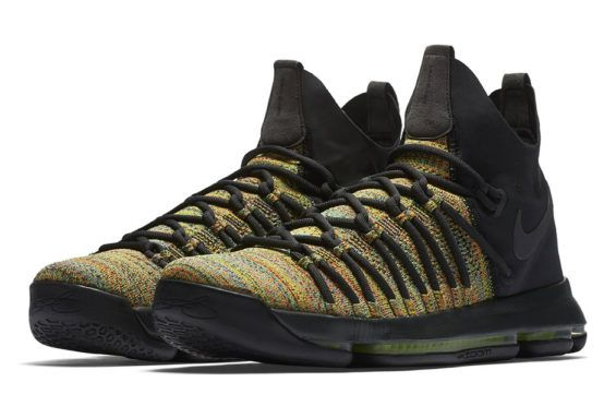Official Images Of The Nike KD 9 Elite Multicolor | White