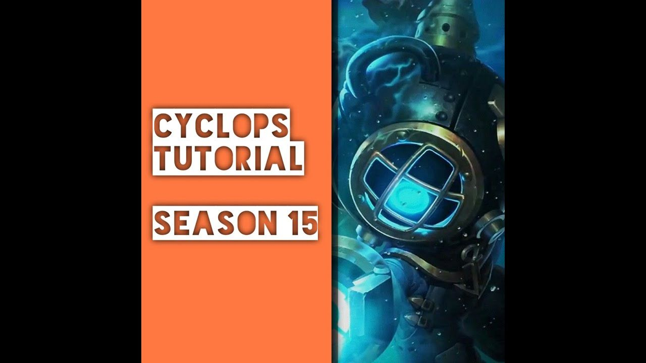 Cyclops Season 15 Tutorial Not Really In 2020 Mobile Legends