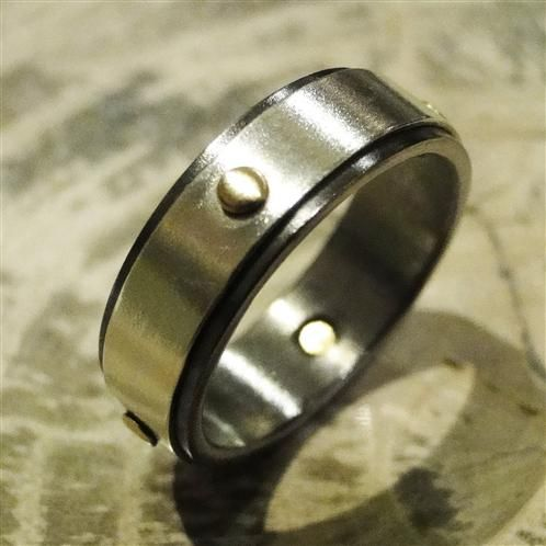 Not merely created engineered A solid Niobium band is wrapped in
