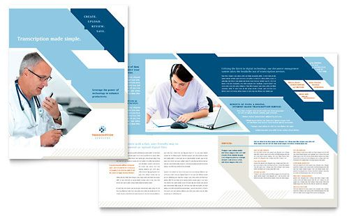 free medical brochure templates for word medical office brochure