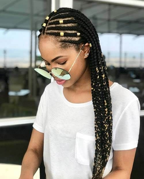 16 Gorgeous Fulani Tribal Braids Hairstyles 2018 To Wear