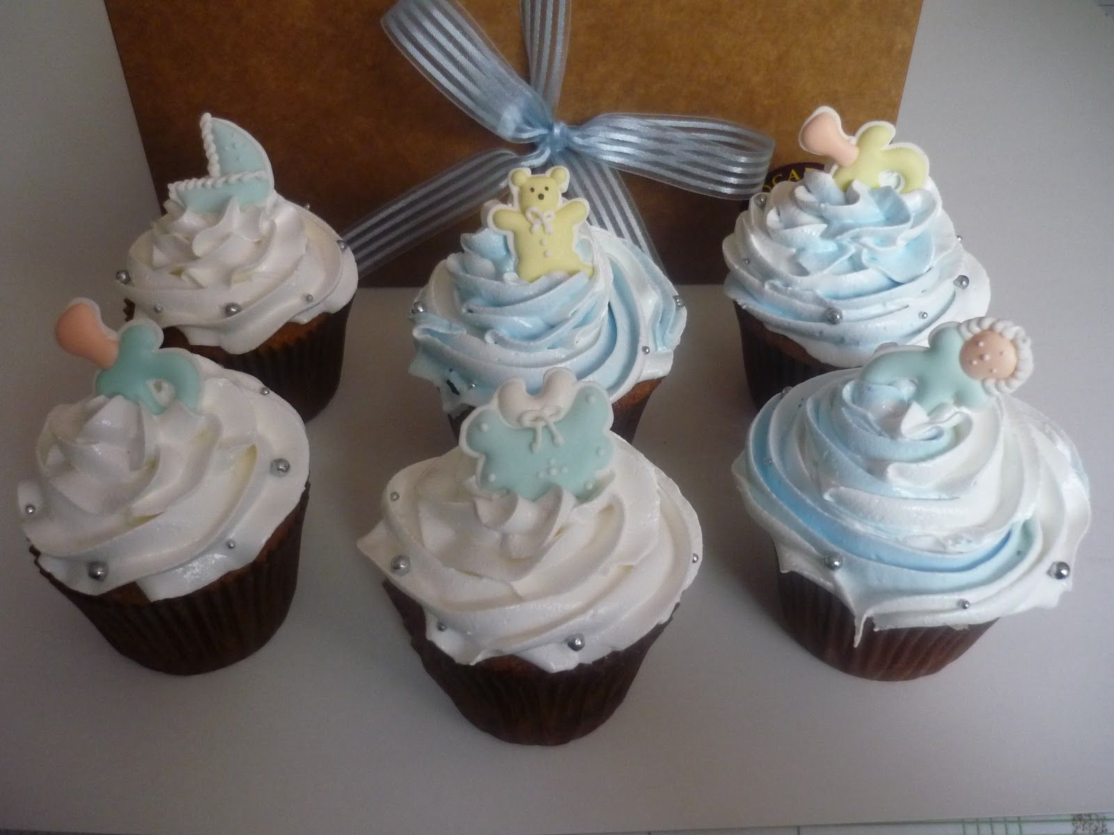 cupcakes baby shower how to images