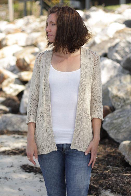 sandshore sweater pattern | knitting II | Pinterest | Patrones para ...