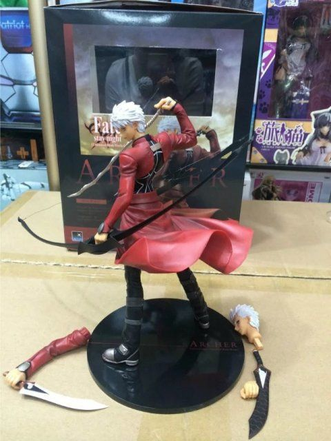 New Arrival Fate Stay Night Archer Emiya Figures Saber Lance Doll Model Figma Anime Action Figurine Brinquedos Toys Collection #Affiliate