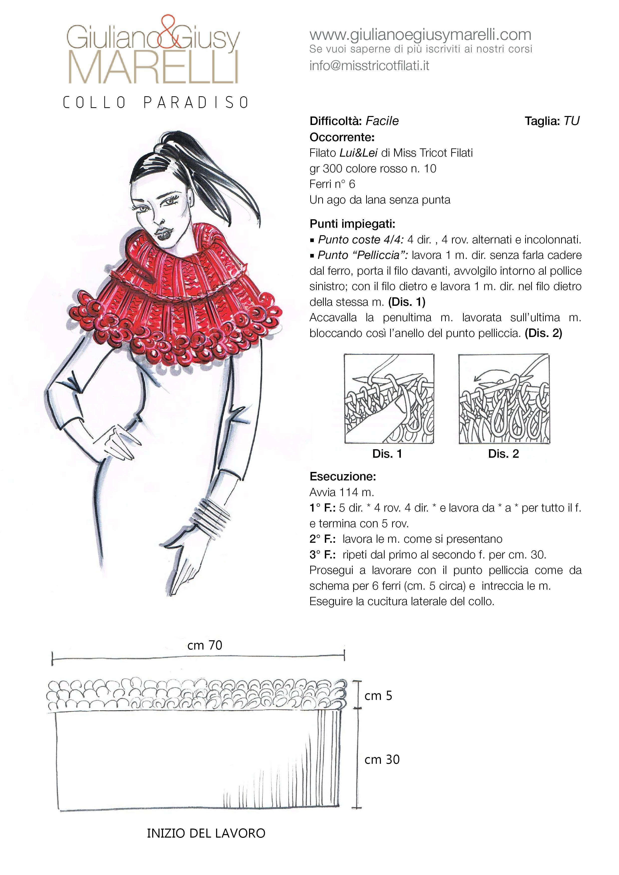 Pin de ilaria olivieri en sciarpe e fasce | Pinterest | Puntadas de ...