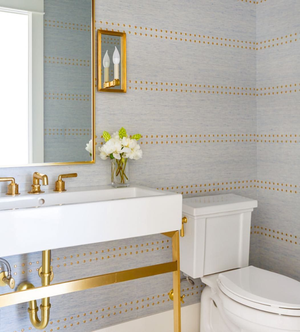 Pin By Jim Bere On A Bath Bathroom Wallpaper Room