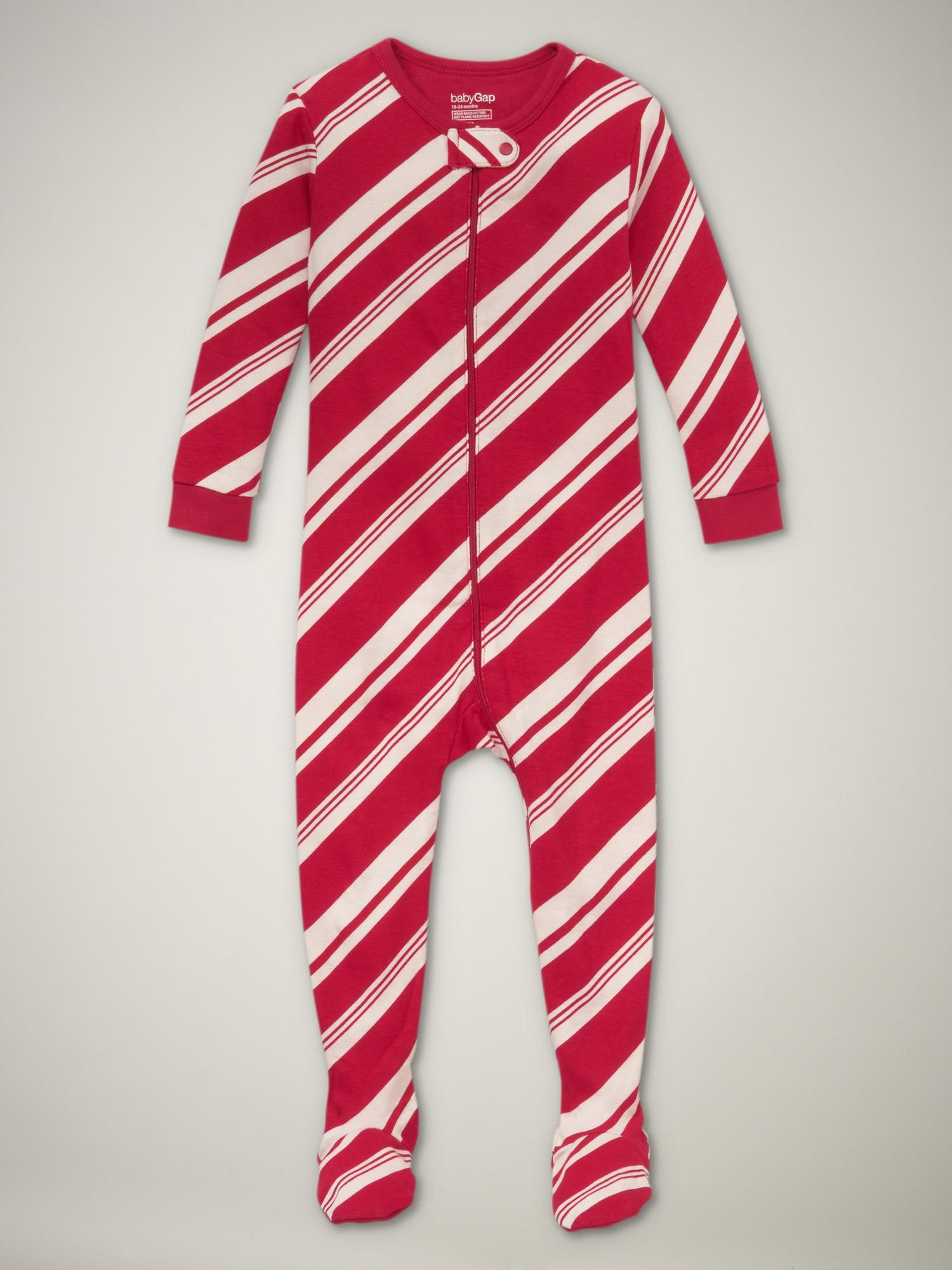 e82219651 Candy cane footed pajamas. (I'm getting one for the boy and one for the  girl.)
