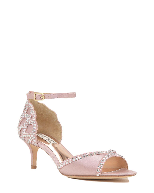 aace60eccaa Badgley Mischka Gillian Ankle Strap Evening Shoe