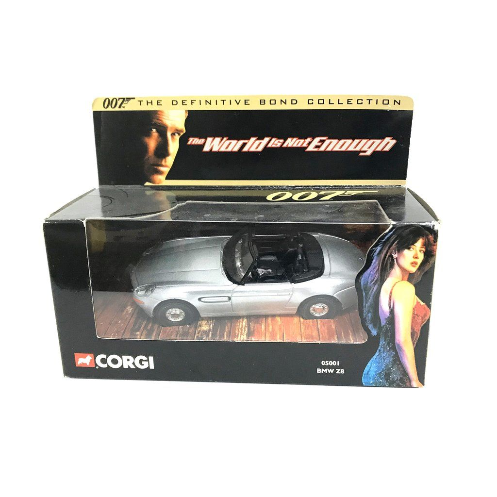 007 The World Is Not Enough Bmw Z8 1 36 Scale Die Cast Vehicle