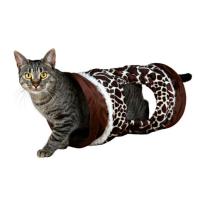 Tunel de juego de jirafa para gatos